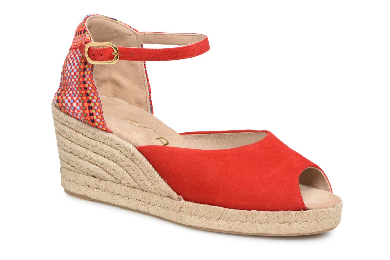 Grandes descuentos últimos zapatos Unisa Cubero (Rojo) - Alpargatas Descuento