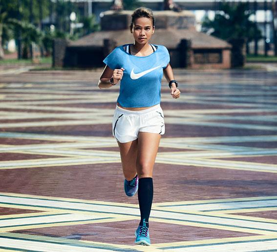 running nike mujer