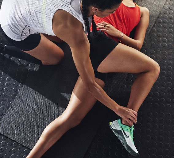 chaussures training femme