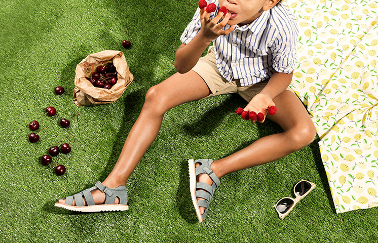 Sandales confort enfant