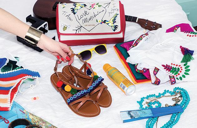 Sandales Pompons Atelier Tropezien