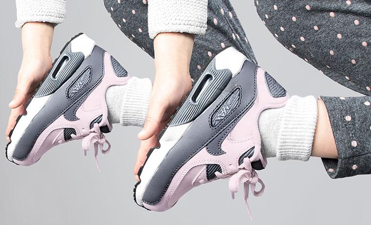 Sneaker power!