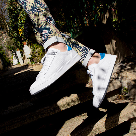Soldes - Sneakers blanches